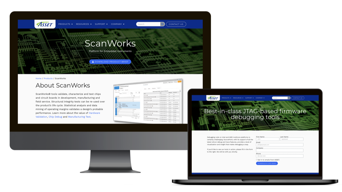 Scanworks product form
