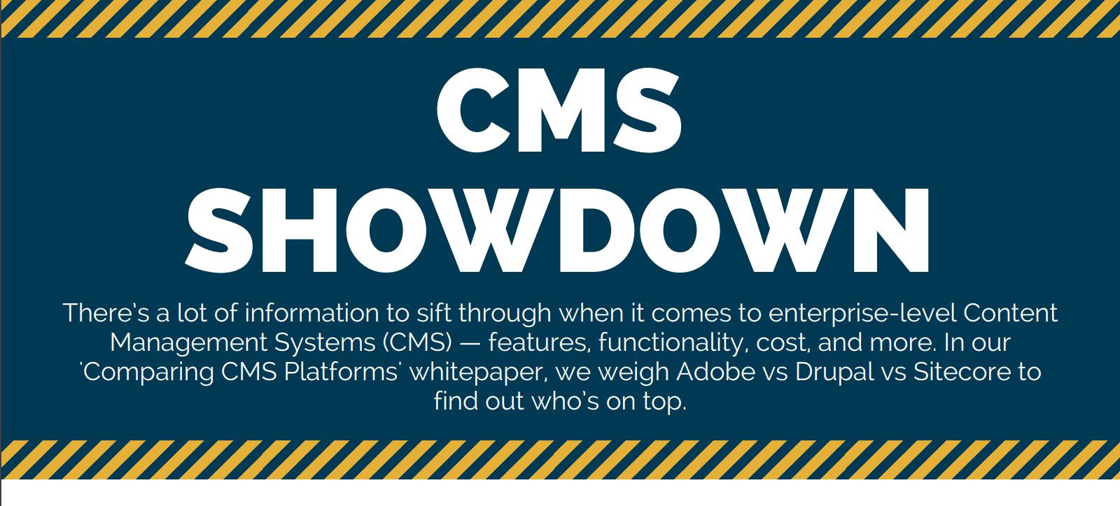 CMS Showdown