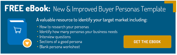 New Buyer Persona Call to Action