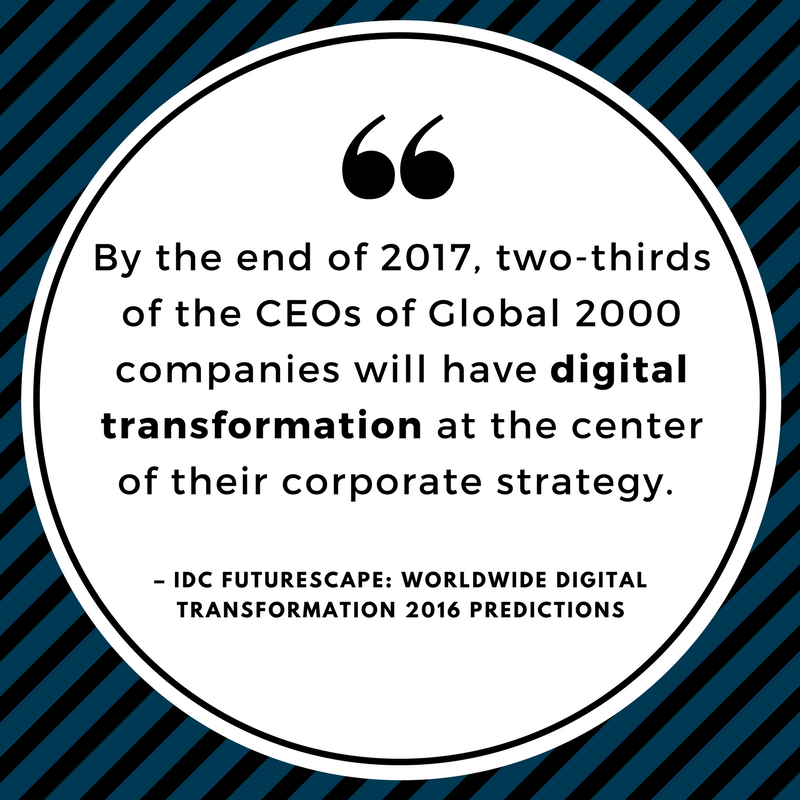 Why CEO's are adopting Digital Transformation