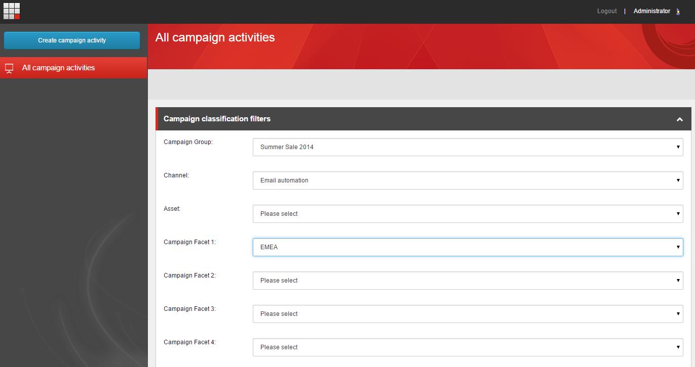 Sitecore campaign setup