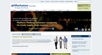 Manhattan Associates Home Page