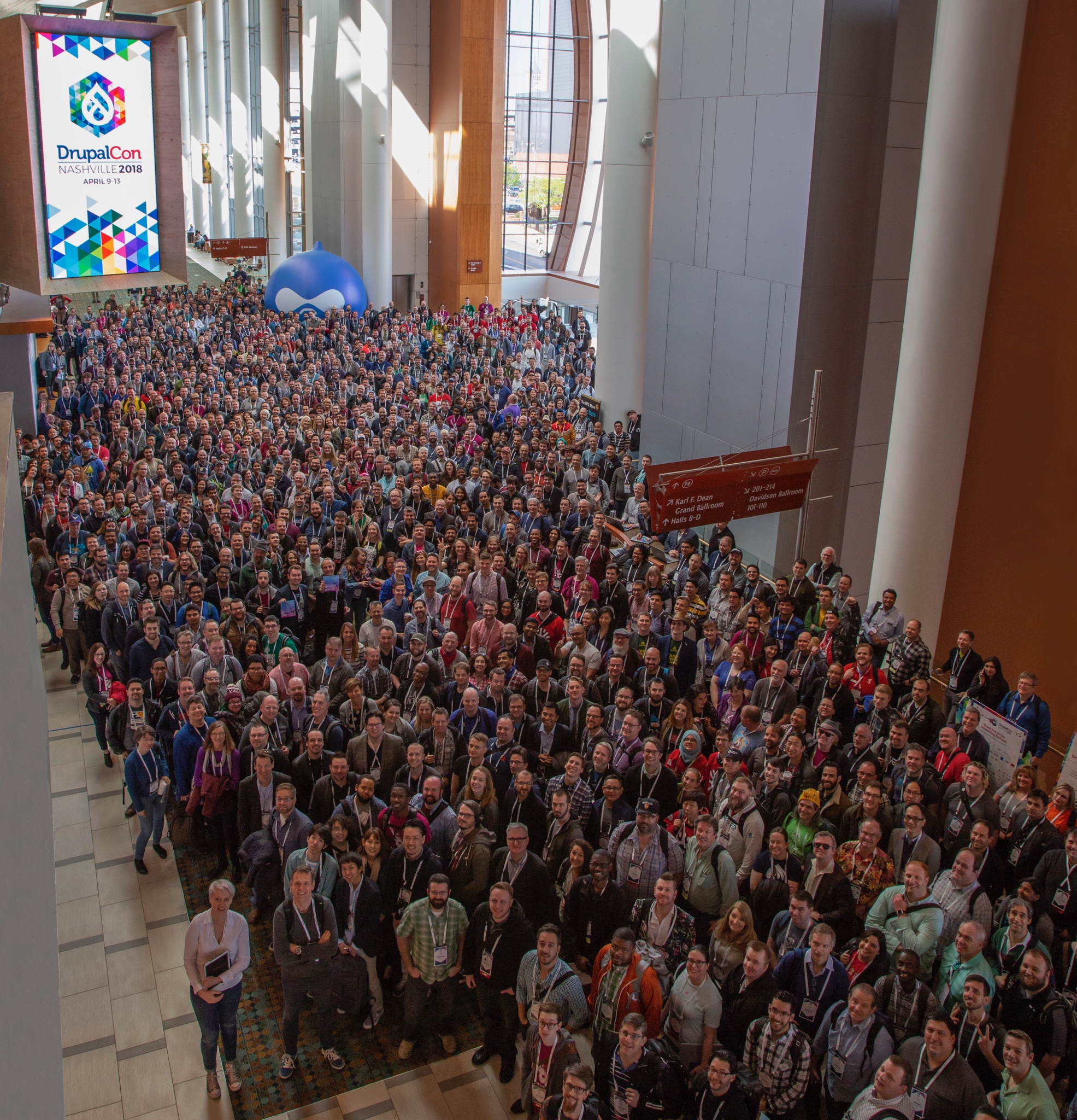 DrupalCon Nashville 2018 Team Photo