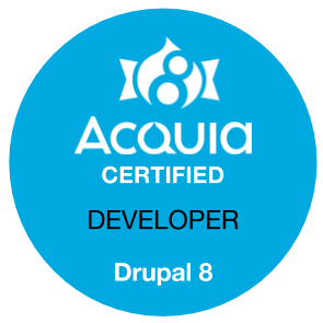 Acquia Certified Developer - Drupal 8