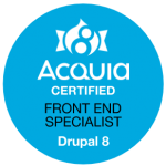 Acquia Certified Drupal 8 Front End Specialist