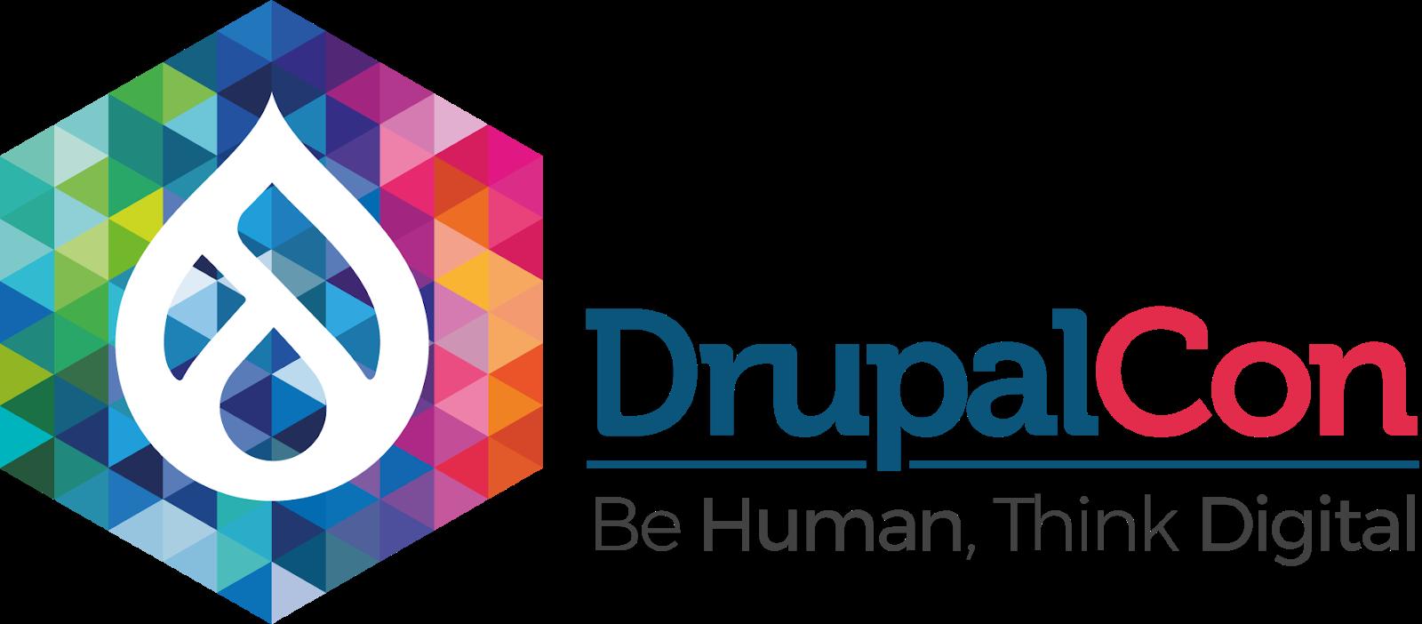 Drupalcon brand lockup