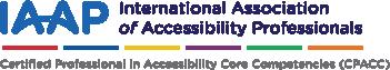 IAAP Certification Logo