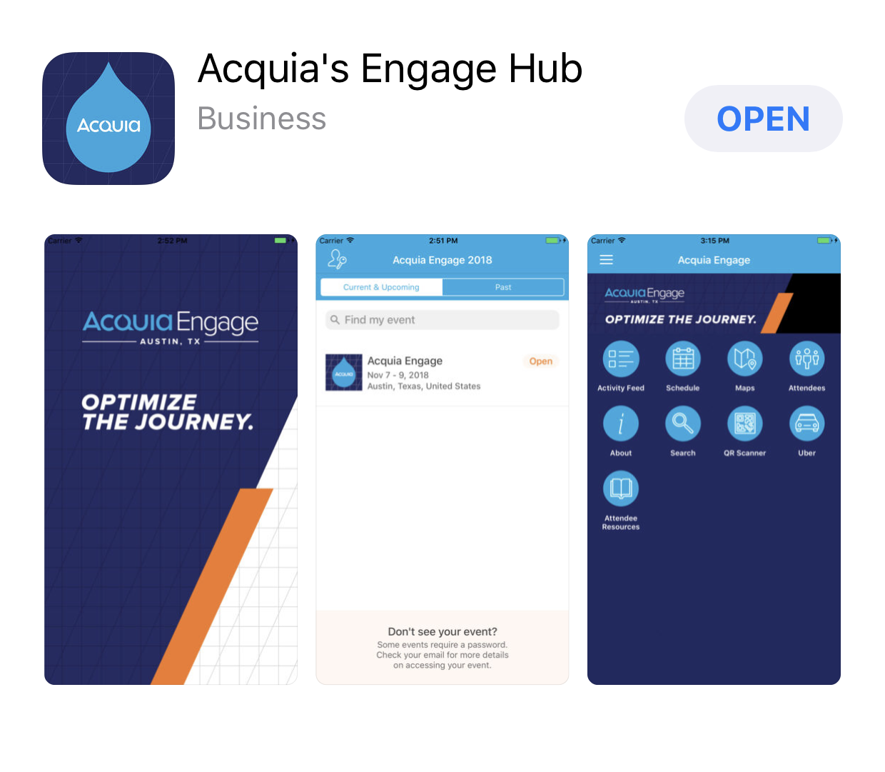 Acquia Engage App