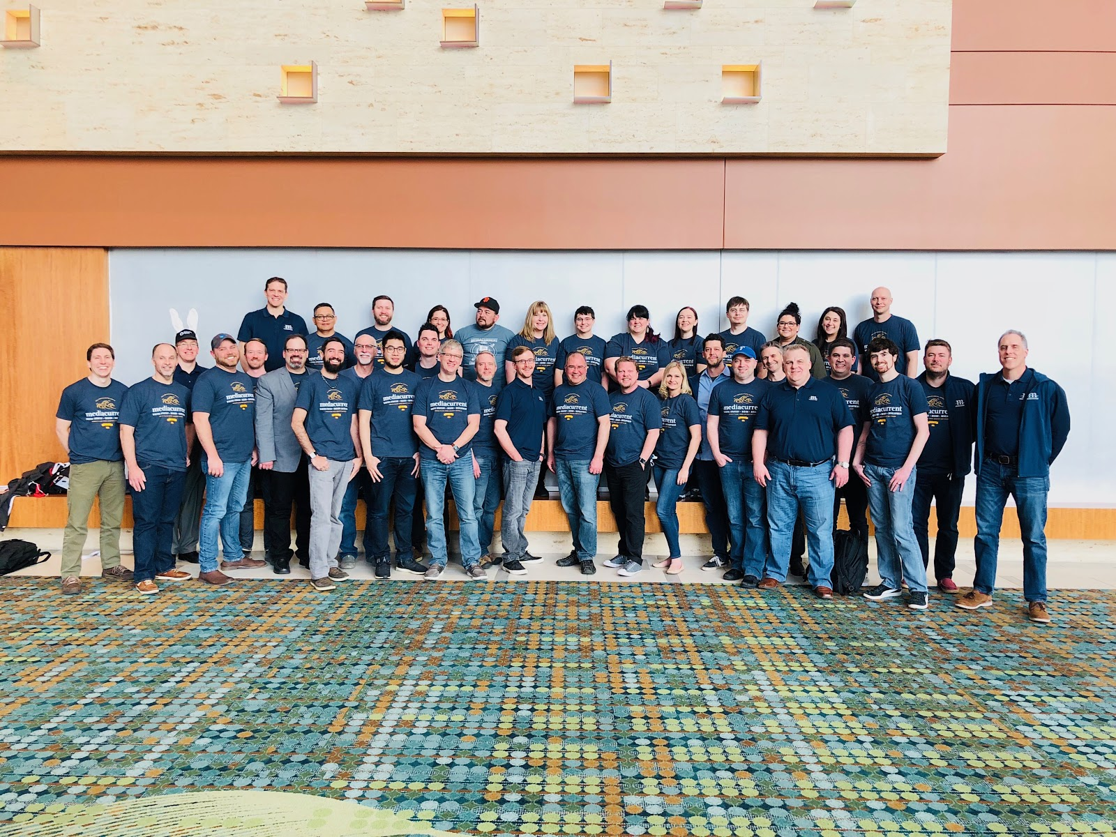 Mediacurrent Team Attendees at DrupalCon