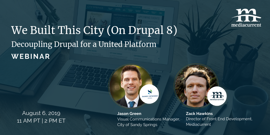 Decoupled Drupal 8 and GatsbyJS webinar