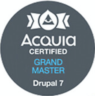 Acquia Certified Grand Master Drupal 7