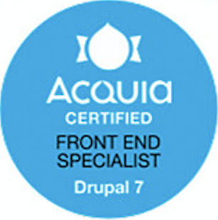 Acquia Certified Front End Specialist Drupal 7