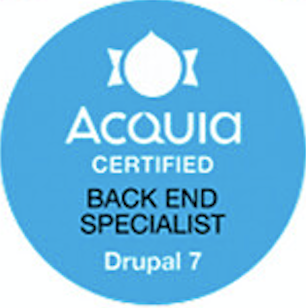 Acquia Certified Back End Specialist Drupal 7
