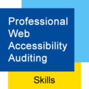Professional web accessibility auditing badge