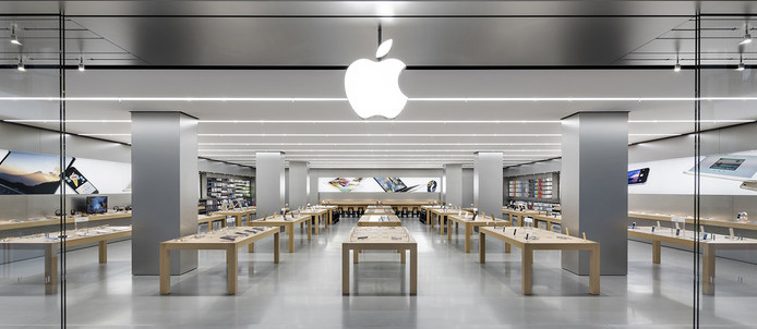 Apple store layout
