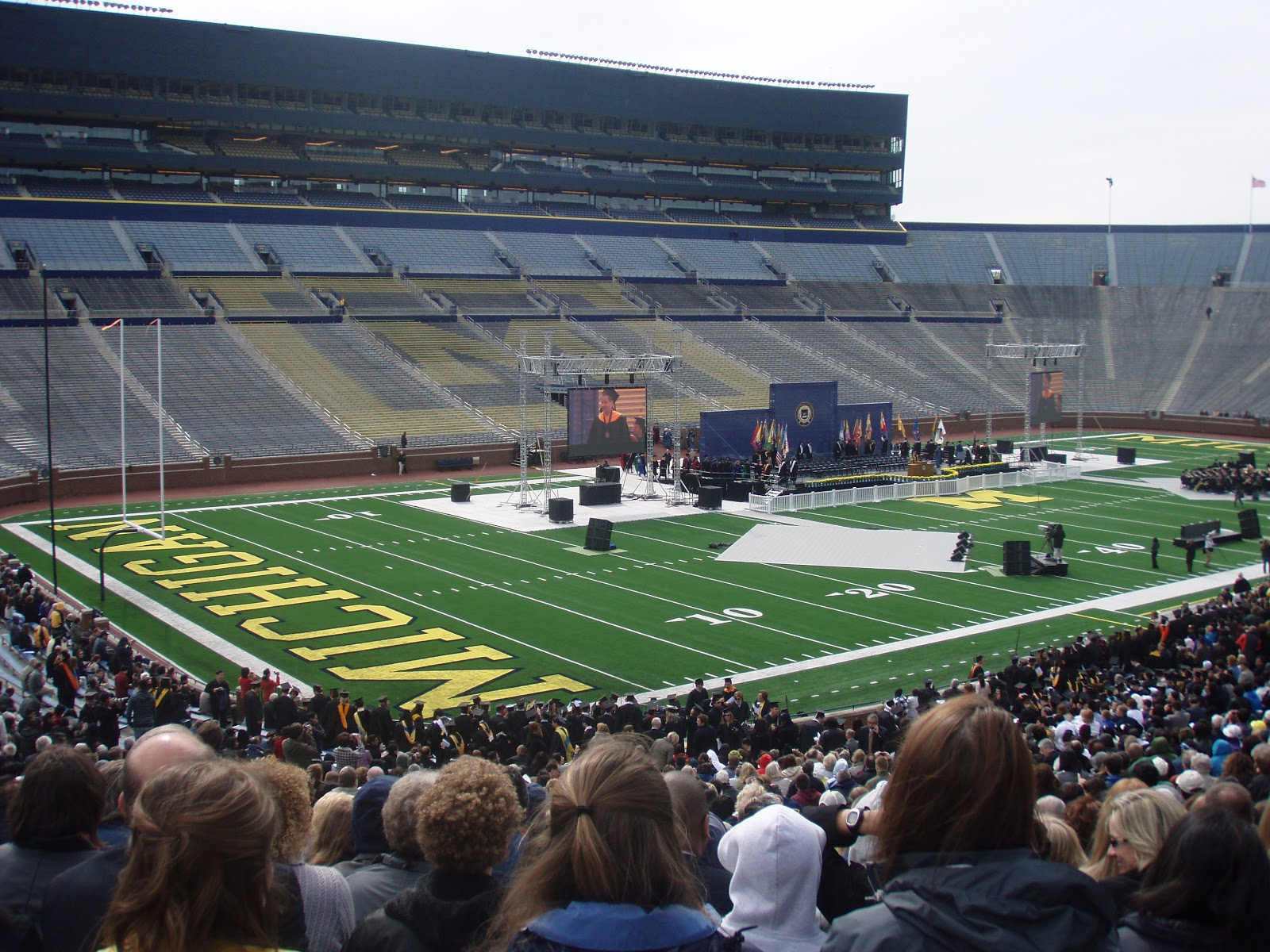 Michigan Football Field