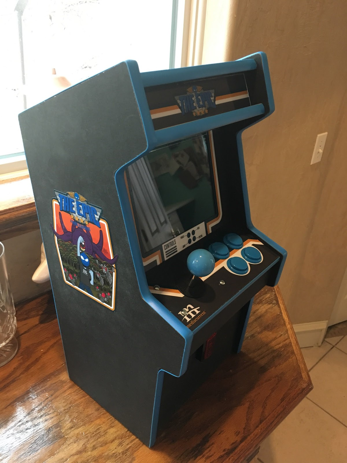 Mediacurrent's Epic video game cabinet
