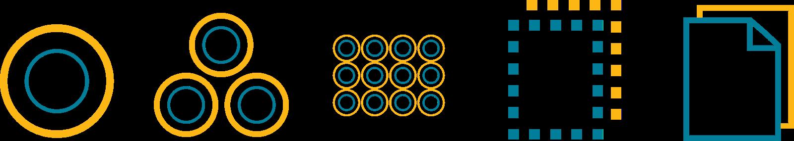 atomic design circular molecules