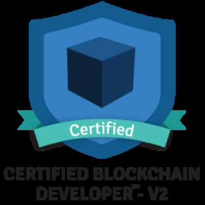 Certified Blockchain Developer from the Blockchain Council