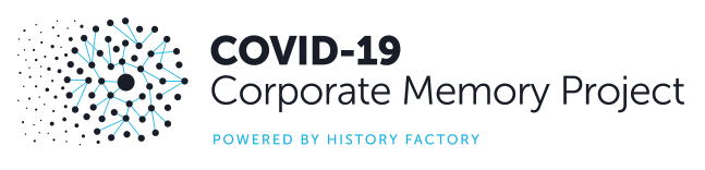 Covid-19 corporate memory project logo