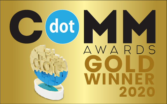 dotcomm awards trophy
