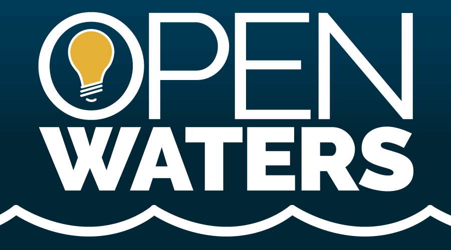 open waters podcast logo