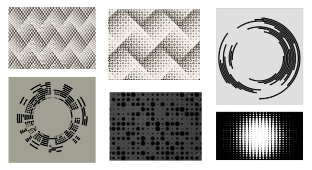 Elements and graphics used in the creation of design