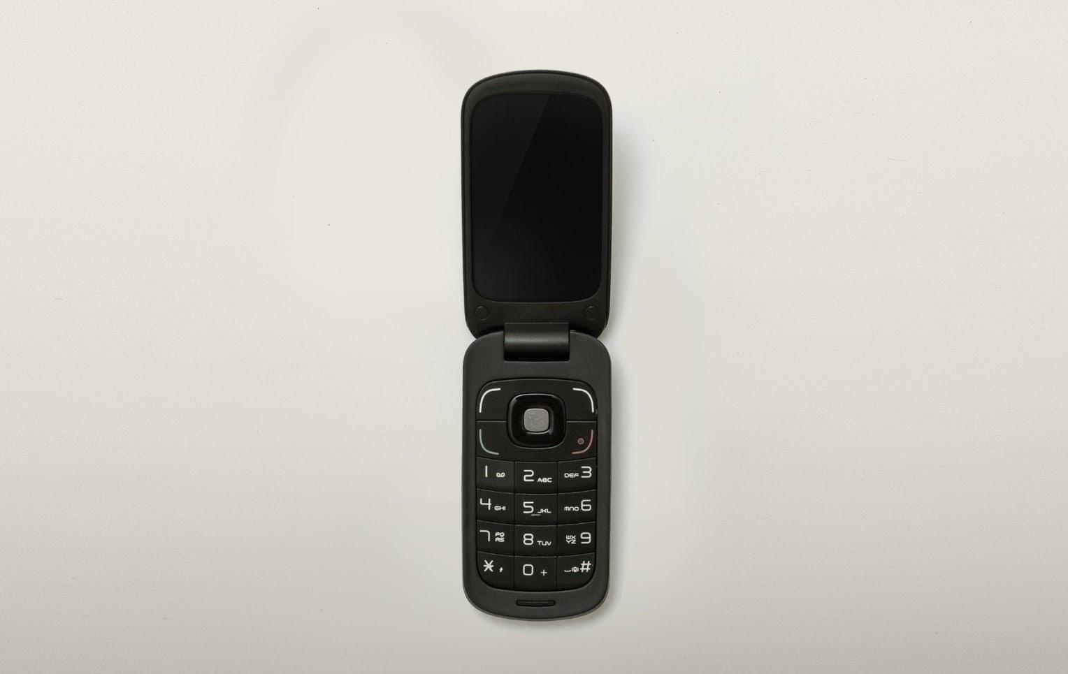 Old style flip phone