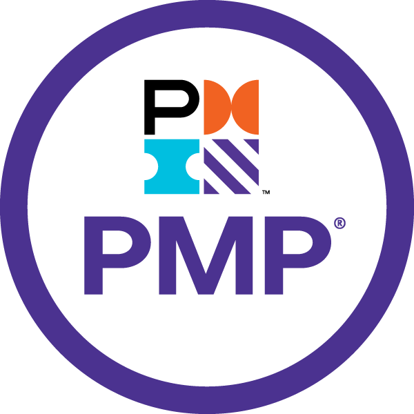 Project Management Professional (PMP) from Project Management Institute