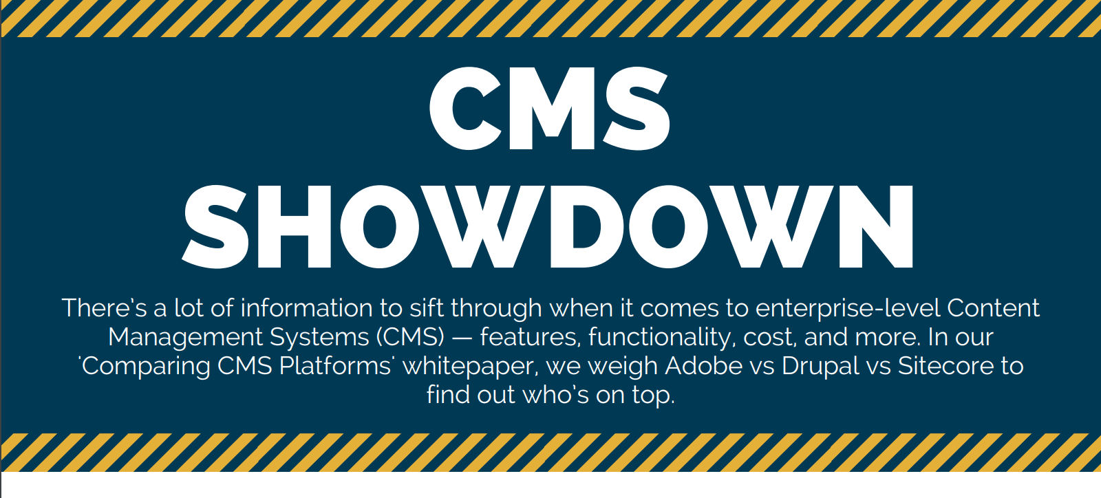 CMS Showdown