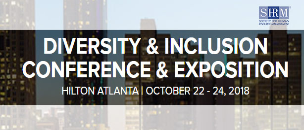 SHRM conference: October 22-24, 2018 in Atlanta