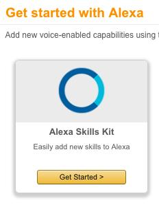 Amazon Alexa Skills Kit